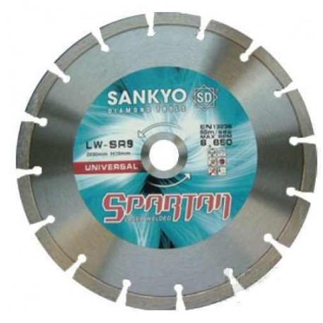 Disc diamantat pentru beton si caramida 230x70 mm LW-SR9 SANKYO