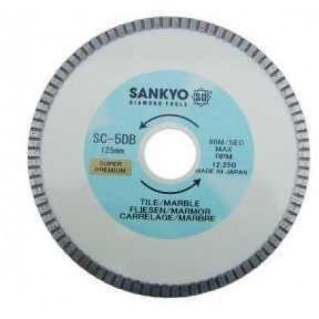 Disc diamantat gresie portelanata 125 mm SC-DB5 SANKYO