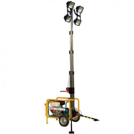 Turn de iluminat mobil PET-7MK 4x1000 W