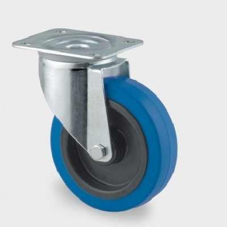 Roata pivotanta din poliamida 125 mm - 250 kg TENTE 3470UFR125P62 blue