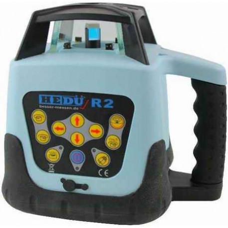 Nivela laser rotativa cu autonivelare HEDU R2 cu raza verde