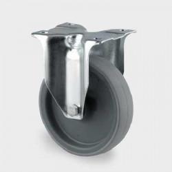 Roata din poliamida ,  fixa 80 mm - 150 kg TENTE 3478UAR080P62 grey